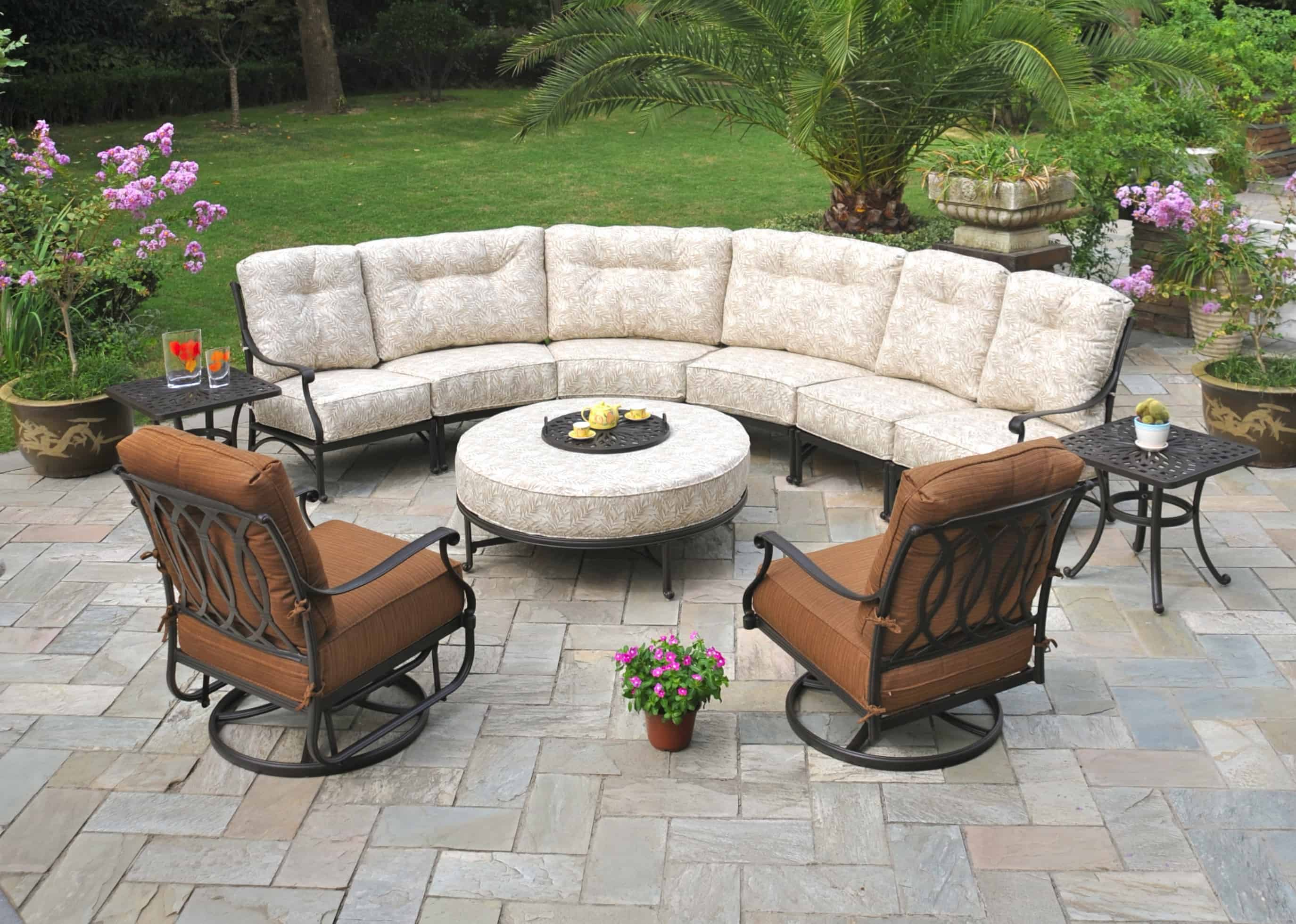 High quality patio furniture can be a big investment but it can also offer huge rewards comfortable long lasting furniture will greatly enhance your