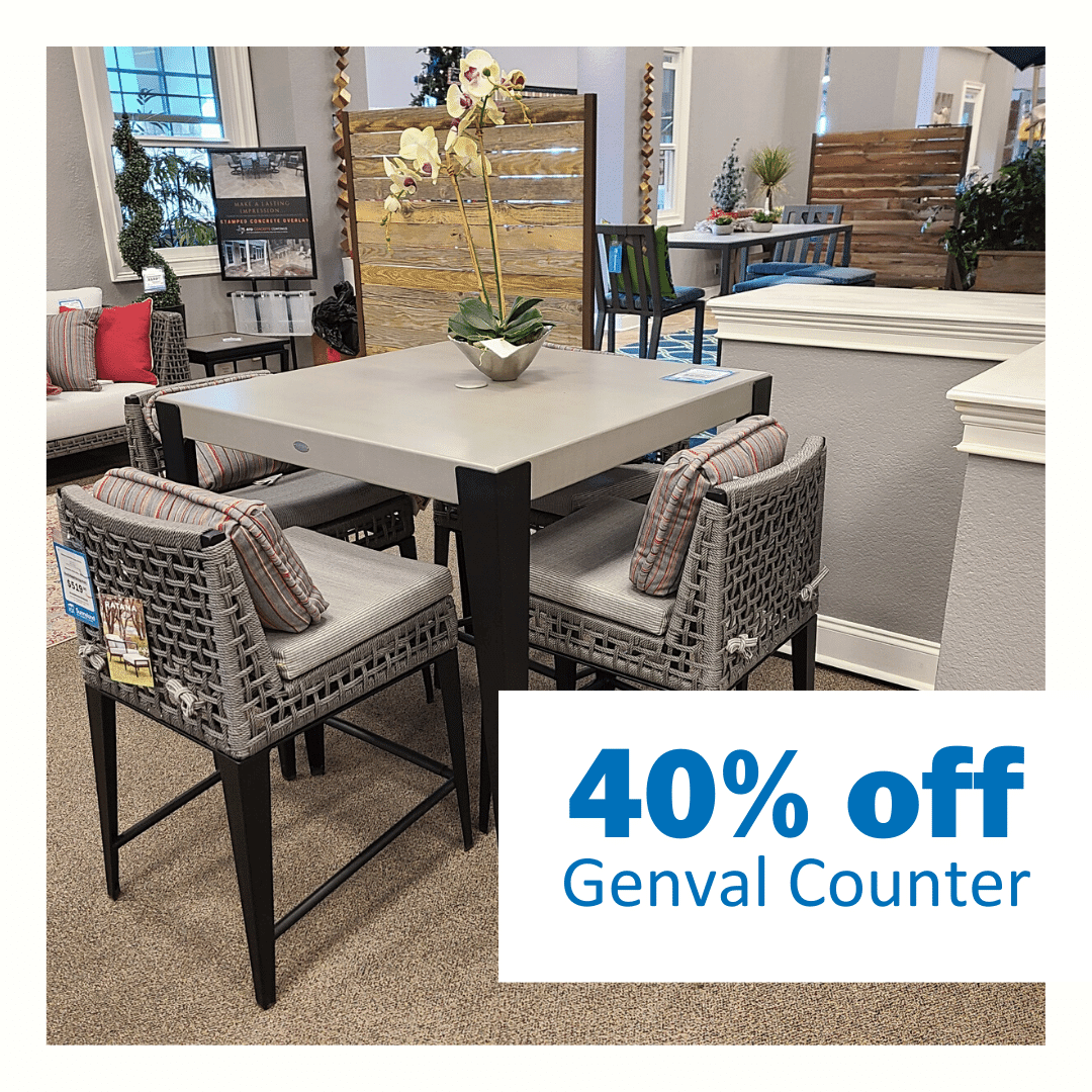 Genval Counter Height Table now 40% off