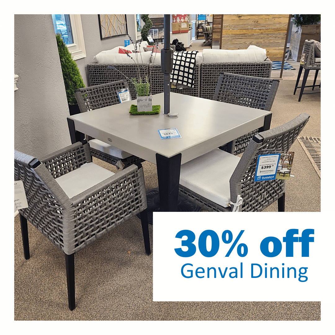 Genval Dining Table 30% off