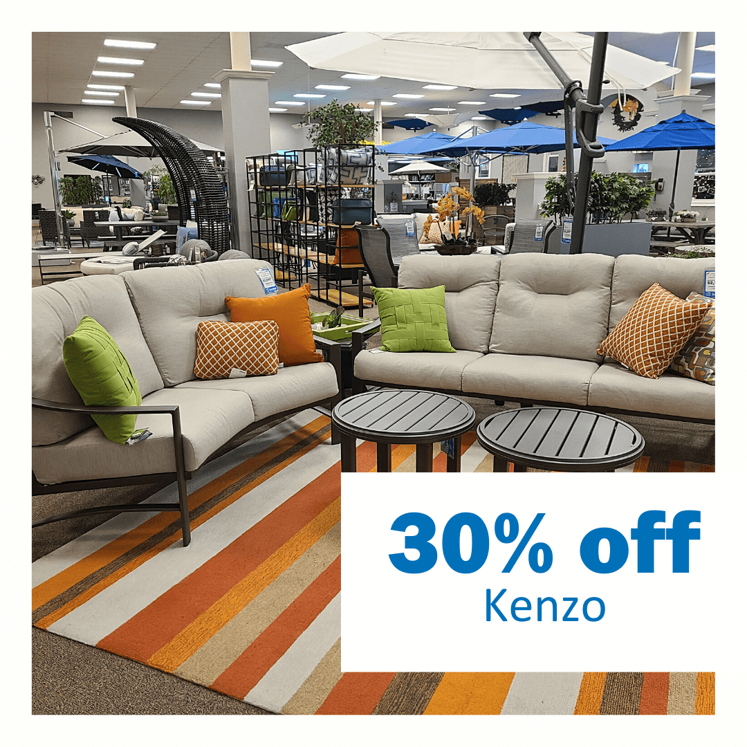 30% off Tropitone Kenzo Collection