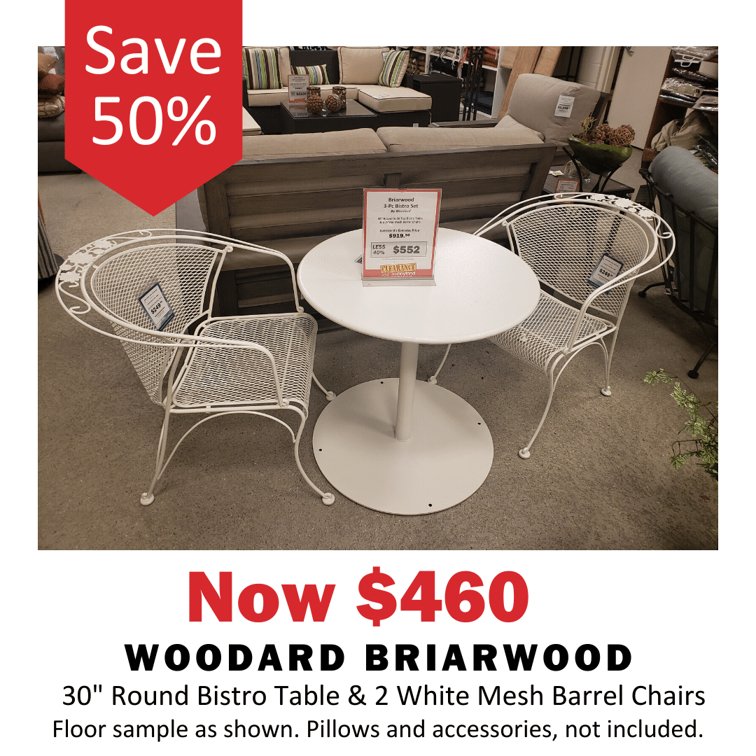 Woodard Briawood Collection now 40% off.