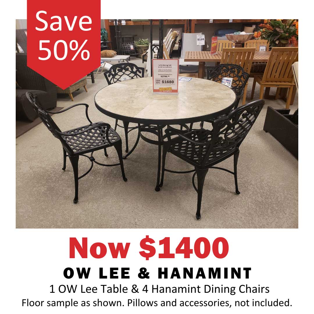 Ow Lee and Hanamint set save 40%