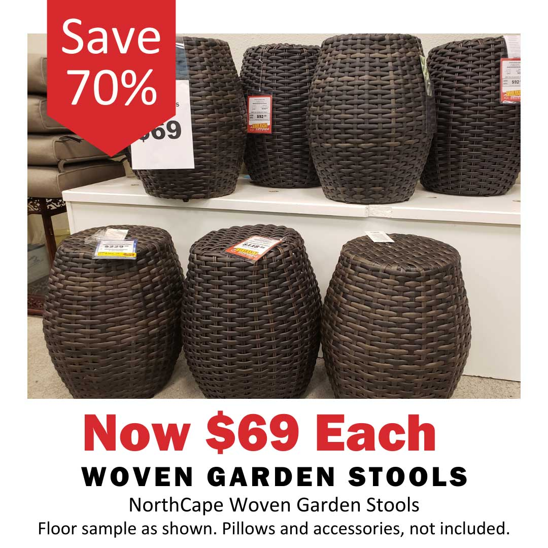 NorthCape Woven Table Set Now 70% Off