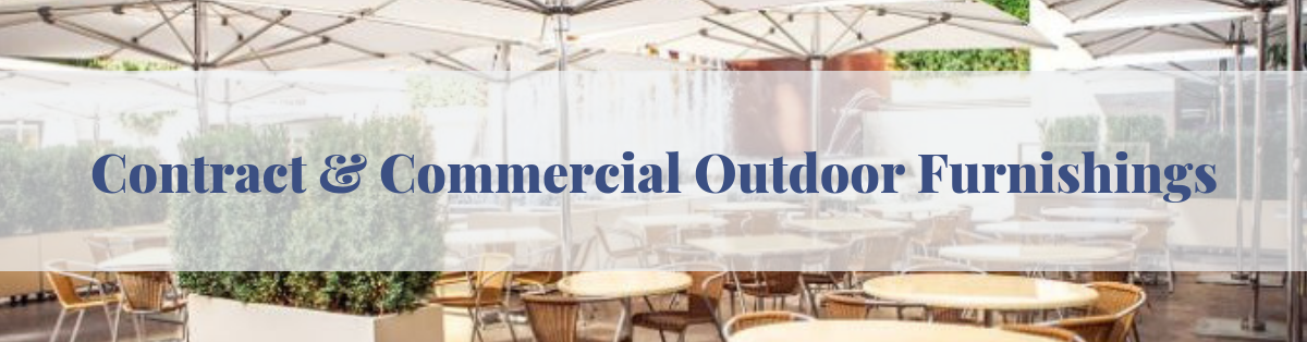 Contract and commercial outdoor furniture