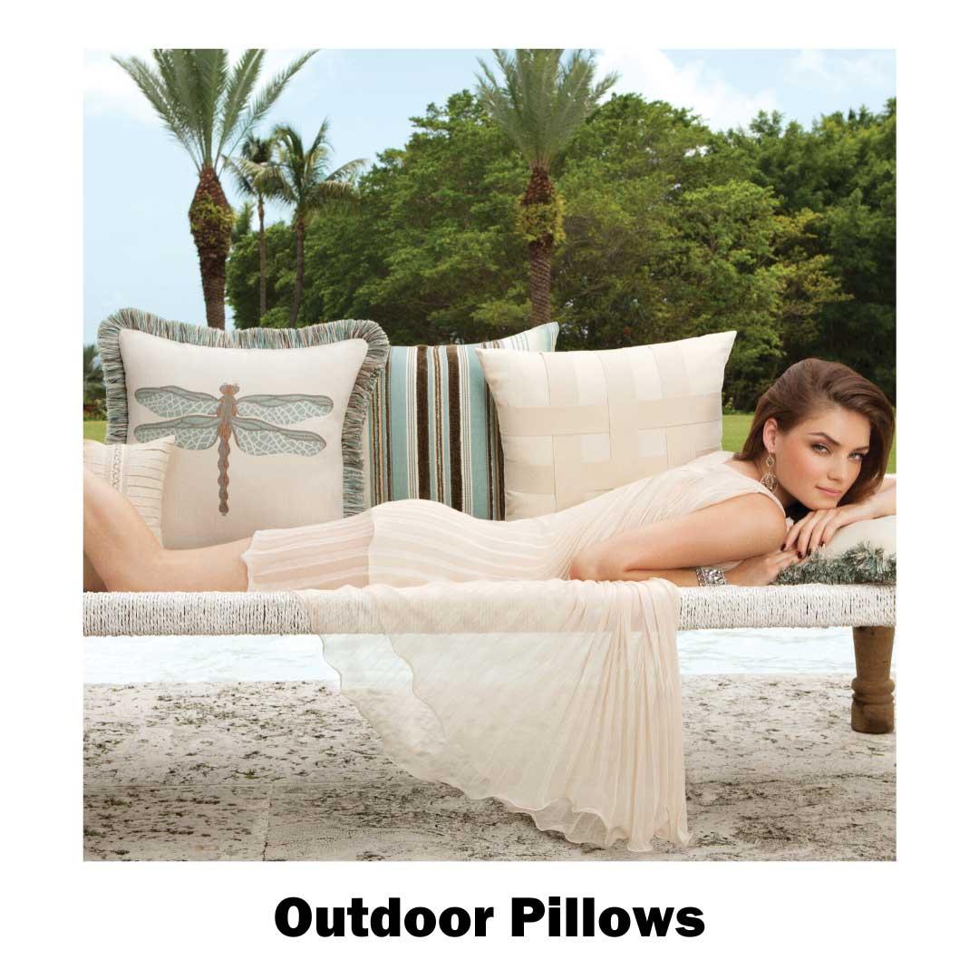 Shop outdoor pillows at our Frisco store