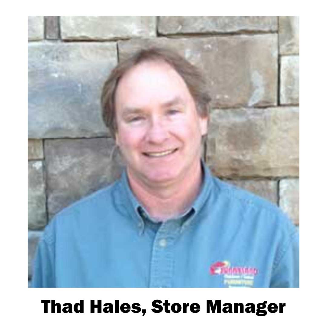 Thad Hales, store manager