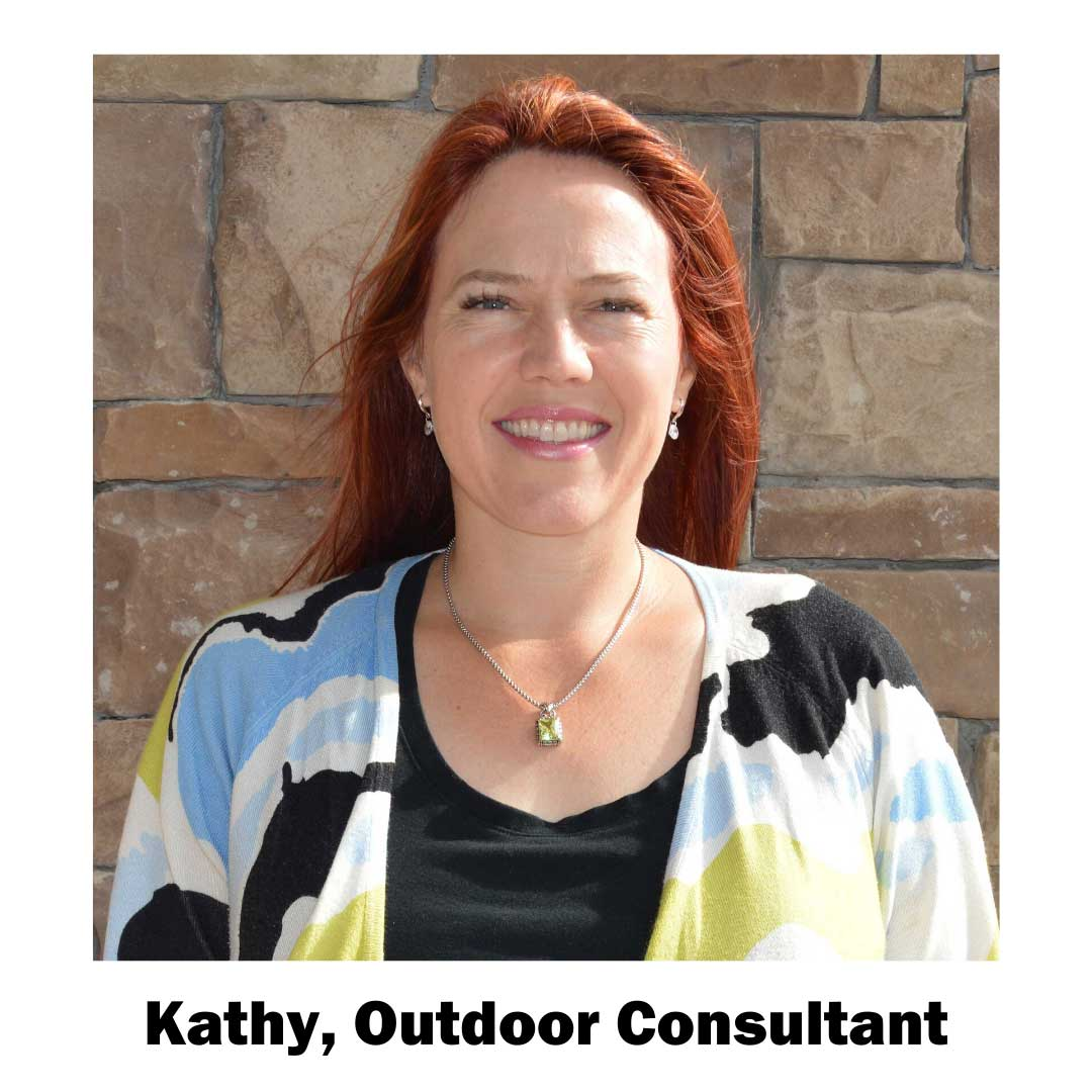 Kathy, outdoor consultant
