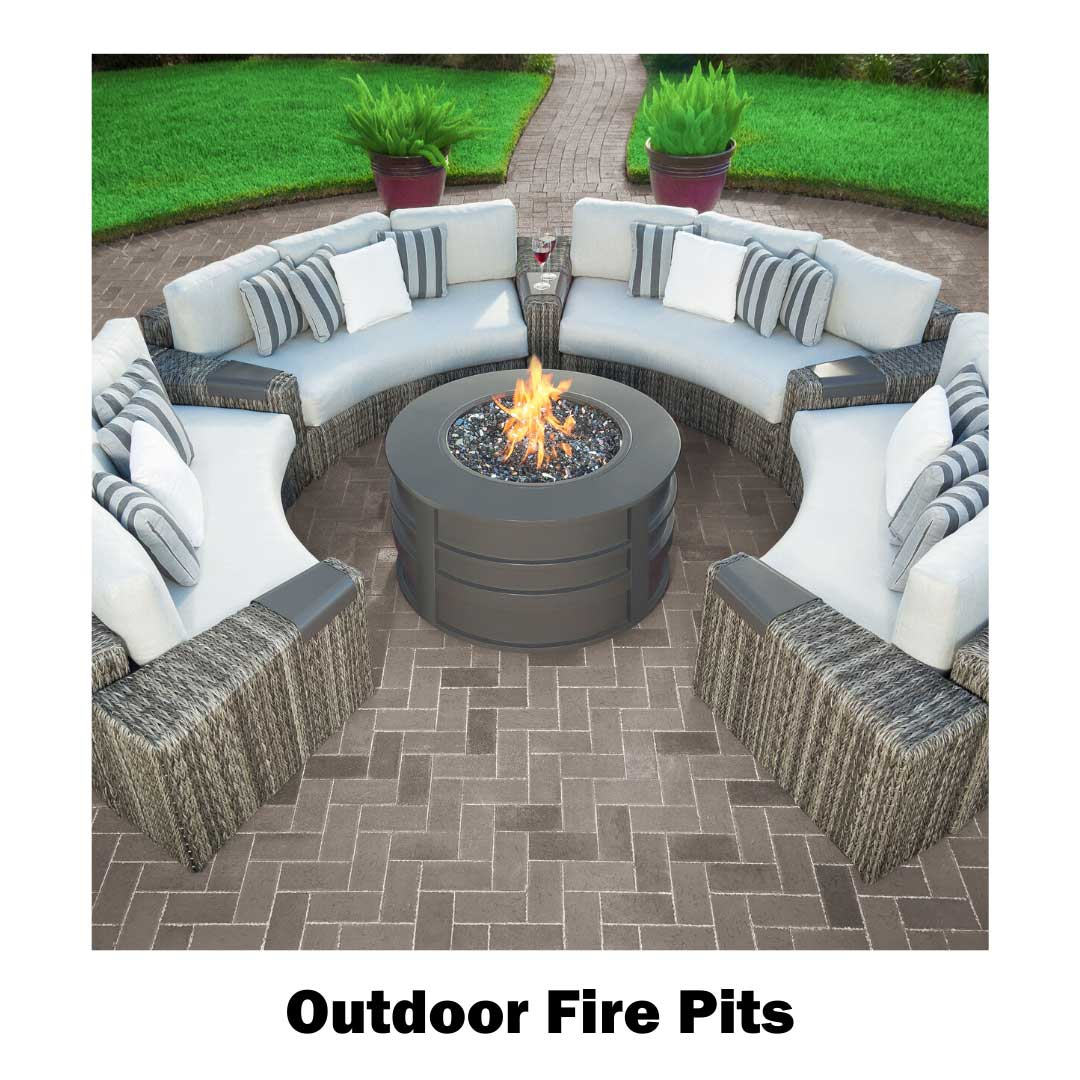 Shop  fire pits at our Frisco store