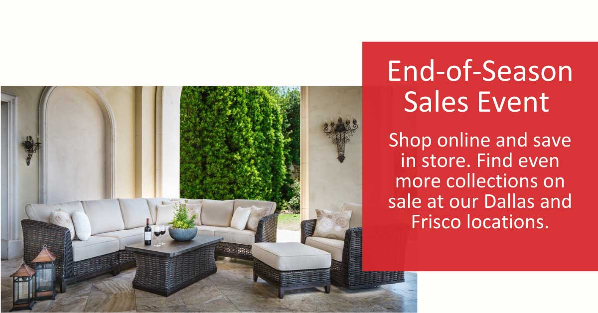 End of Season Sales Event. Shop online and save in store.
