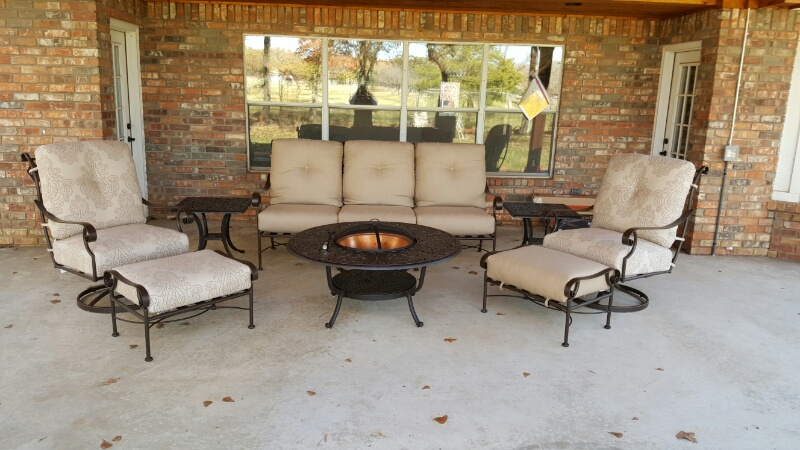 Ow Lee St Charles Amp Hanamint Fire Pit Amp Tables