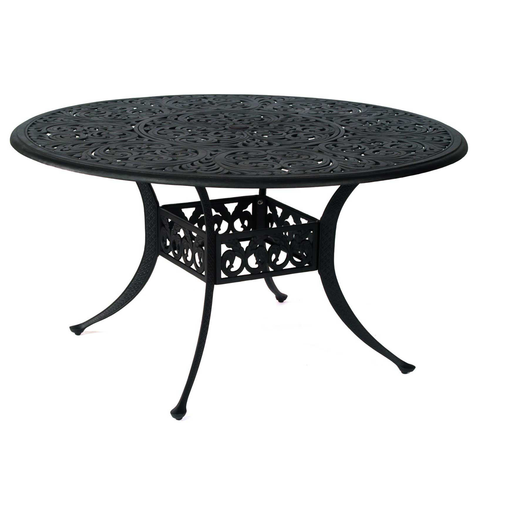 "Hanamint Mayfair 48"" Round Dining Table Outdoor Furniture"