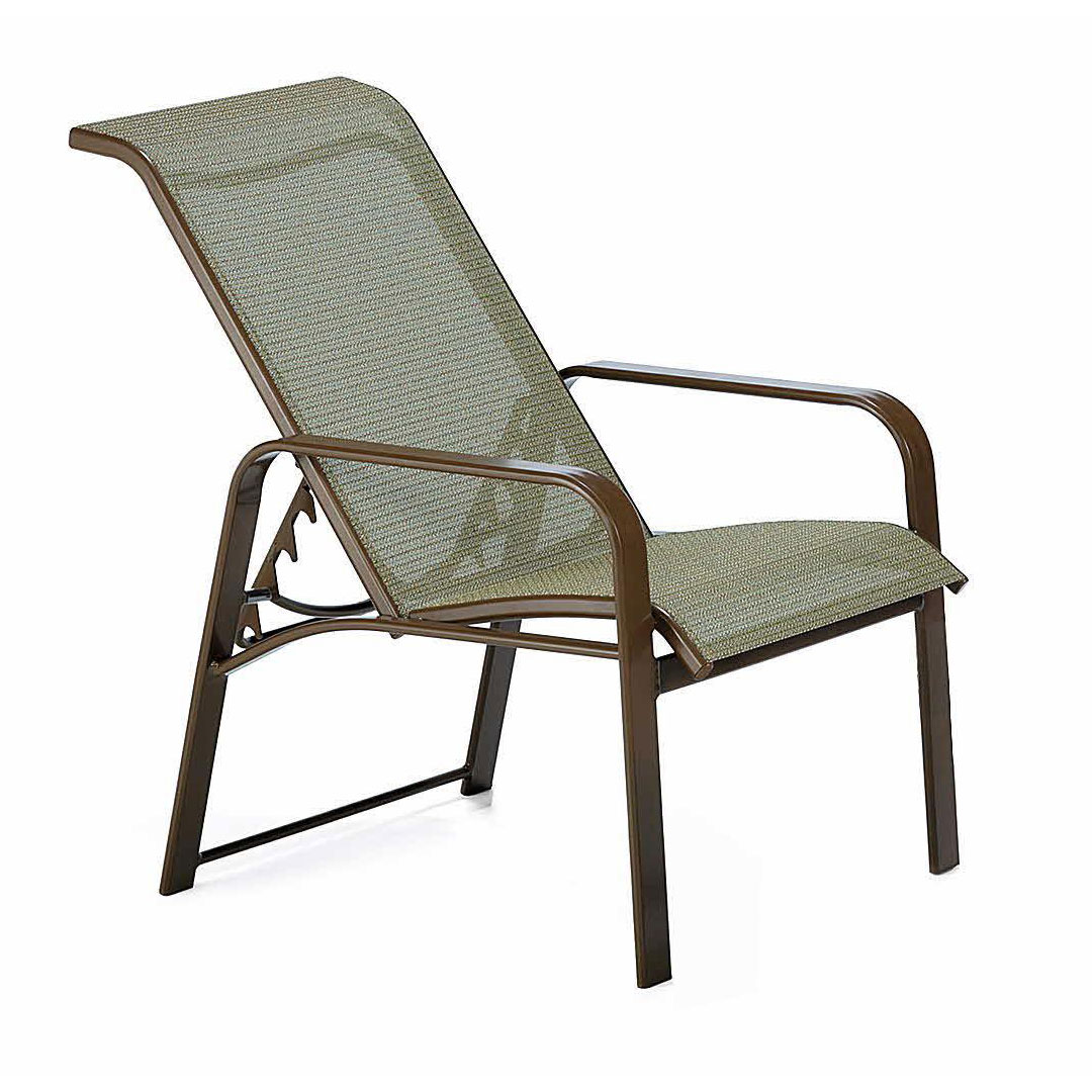 Enjoyable Winston Seagrove Ii Sling Adjustable Chair Outdoor Furniture Gmtry Best Dining Table And Chair Ideas Images Gmtryco