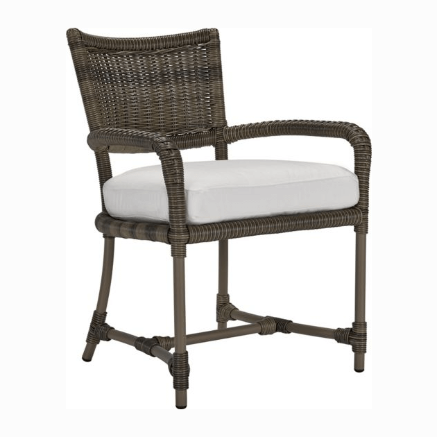 Oasis Cushion Dining Chair - Vesper Pebble