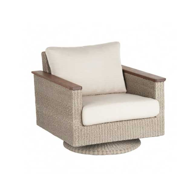 Coral IPE Woven Club Chair