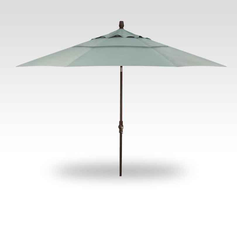 11' Collar Tilt Market Umbrella - Spa