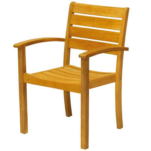 Sedona Stacking Arm Chair