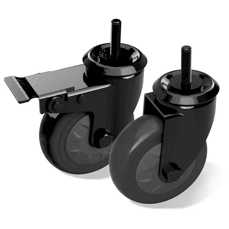 Caster Kit - (4 in) set of 2
