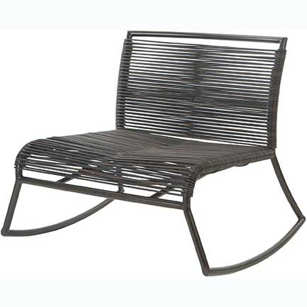 Monaco Woven Rocking Chair