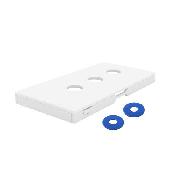 Ledge Lounger Washer Game - White
