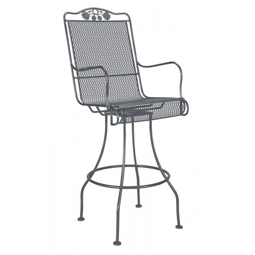Briarwood Mesh Swivel Bar Stool
