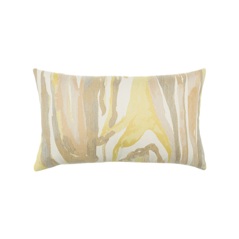 Bark Citrine Lumbar Pillow
