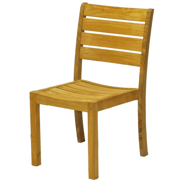 Sedona Teak Stacking Side Chair