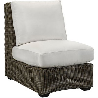 Oasis Cushion Armless Chair - Vesper Birch