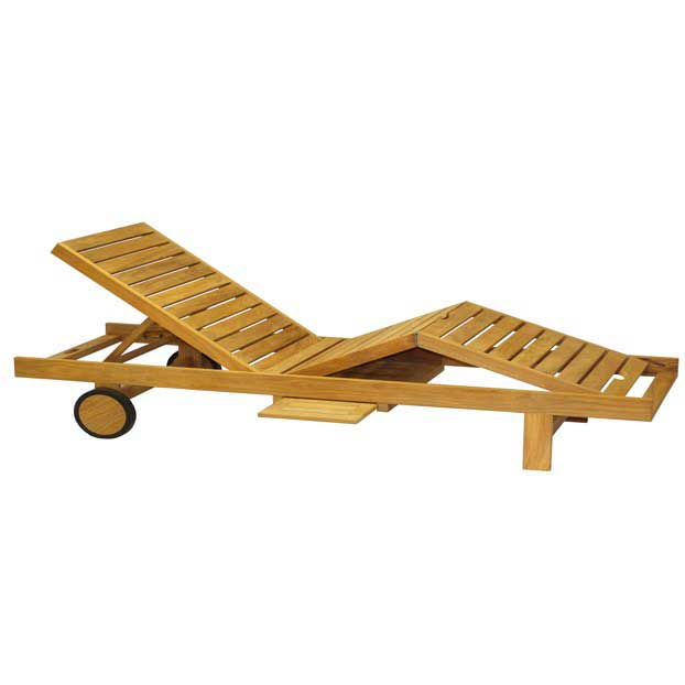 Quincy Teak Lounger