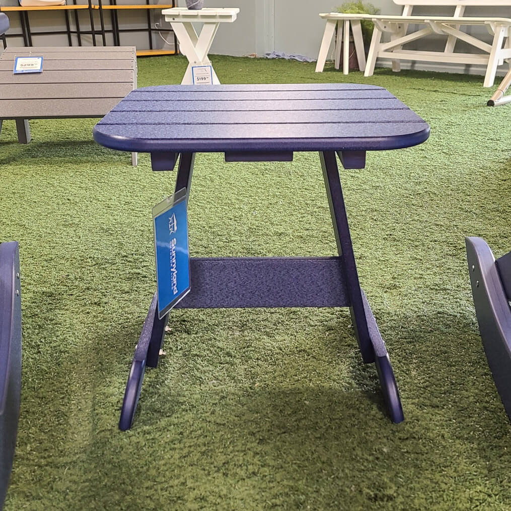 Square Adirondack End Table - Navy