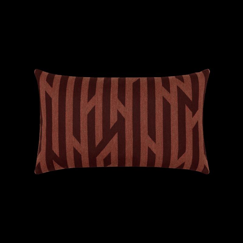 Zest Merlot Lumbar Pillow