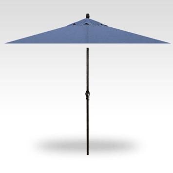 8x11 Rectangle Market Umbrella - Haze