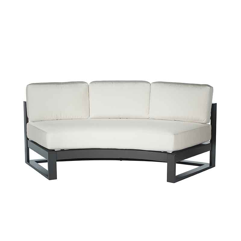 Palemro Cushion Curved Sofa
