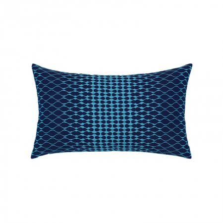 Opitic Azure Lumbar Pillow
