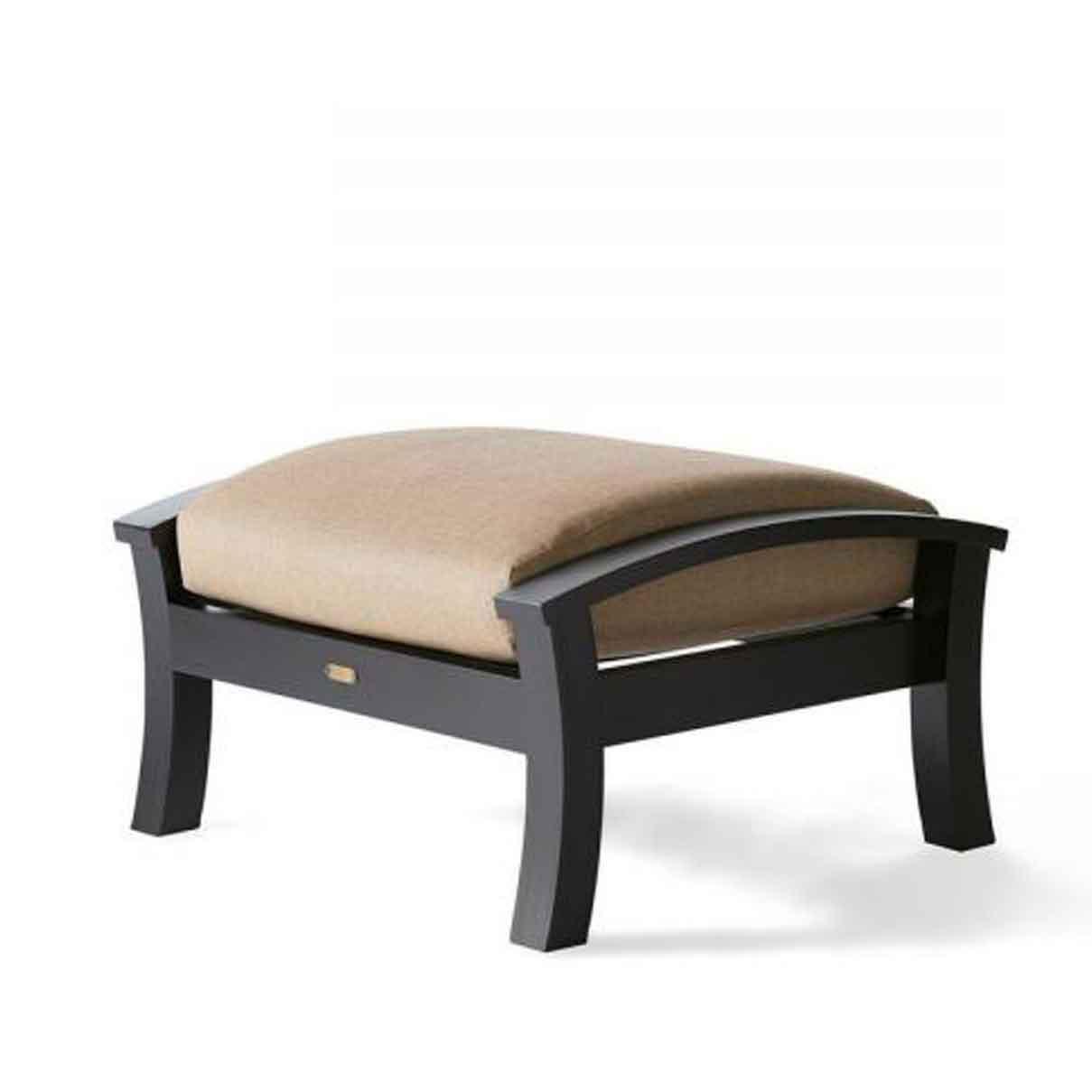 Georgetown Cushion Ottoman - Cast Ash