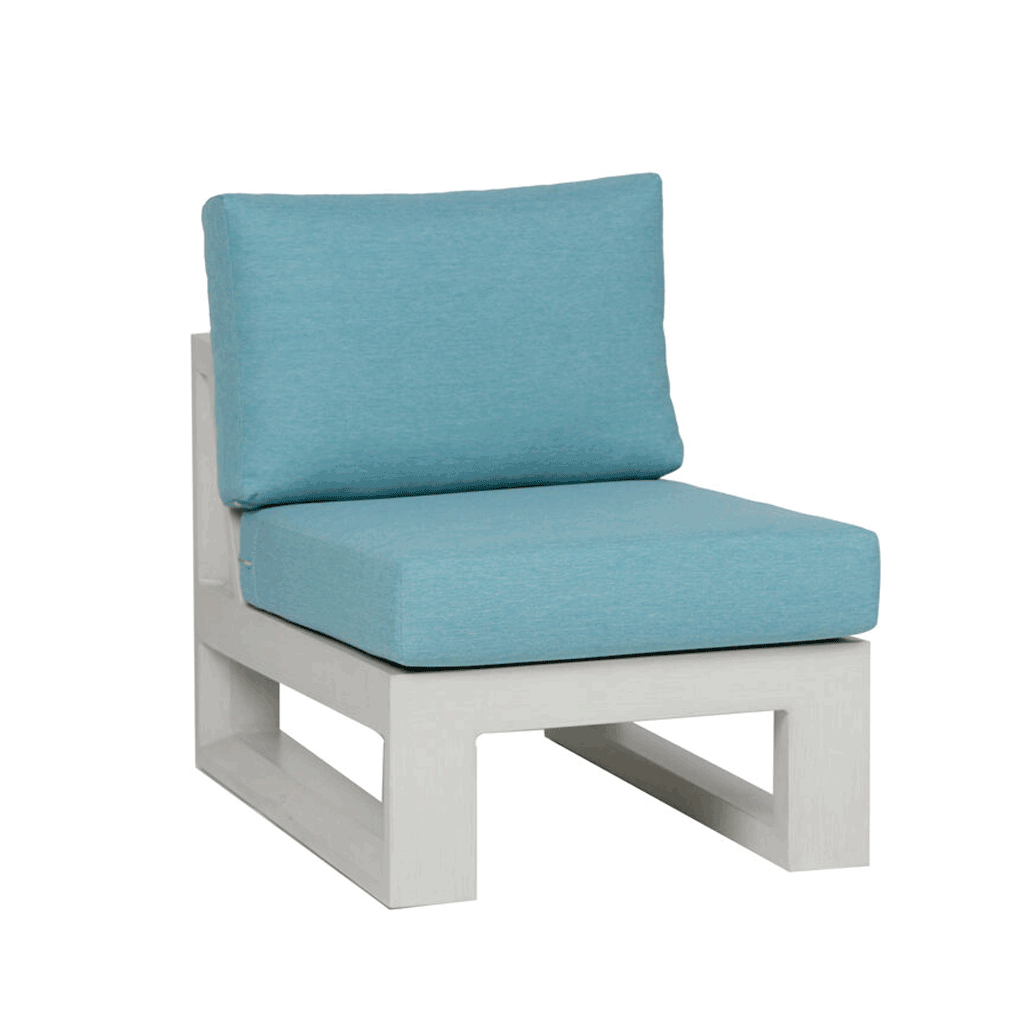 Element 5.0 Armless Chair Sectional - Whitewash