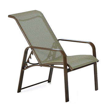 Seagrove II Sling Adjustable Chair - Stack Stone