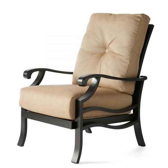 Anthem Cushion Club Chair - Rochelle Spice