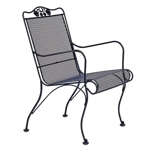 Briarwood Mesh High Back Lounge Chair