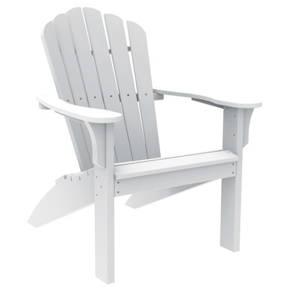 Coastline Adirondack Chair - White