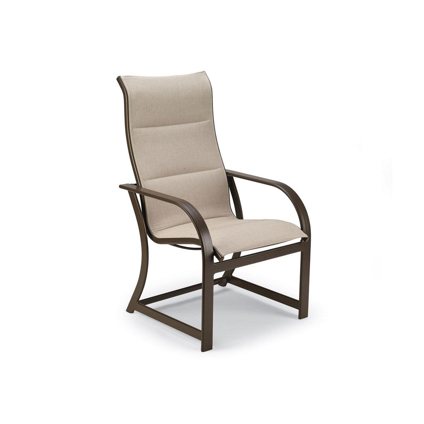 Winston key west padded sling dining chair outdoor for Outdoor furniture dallas