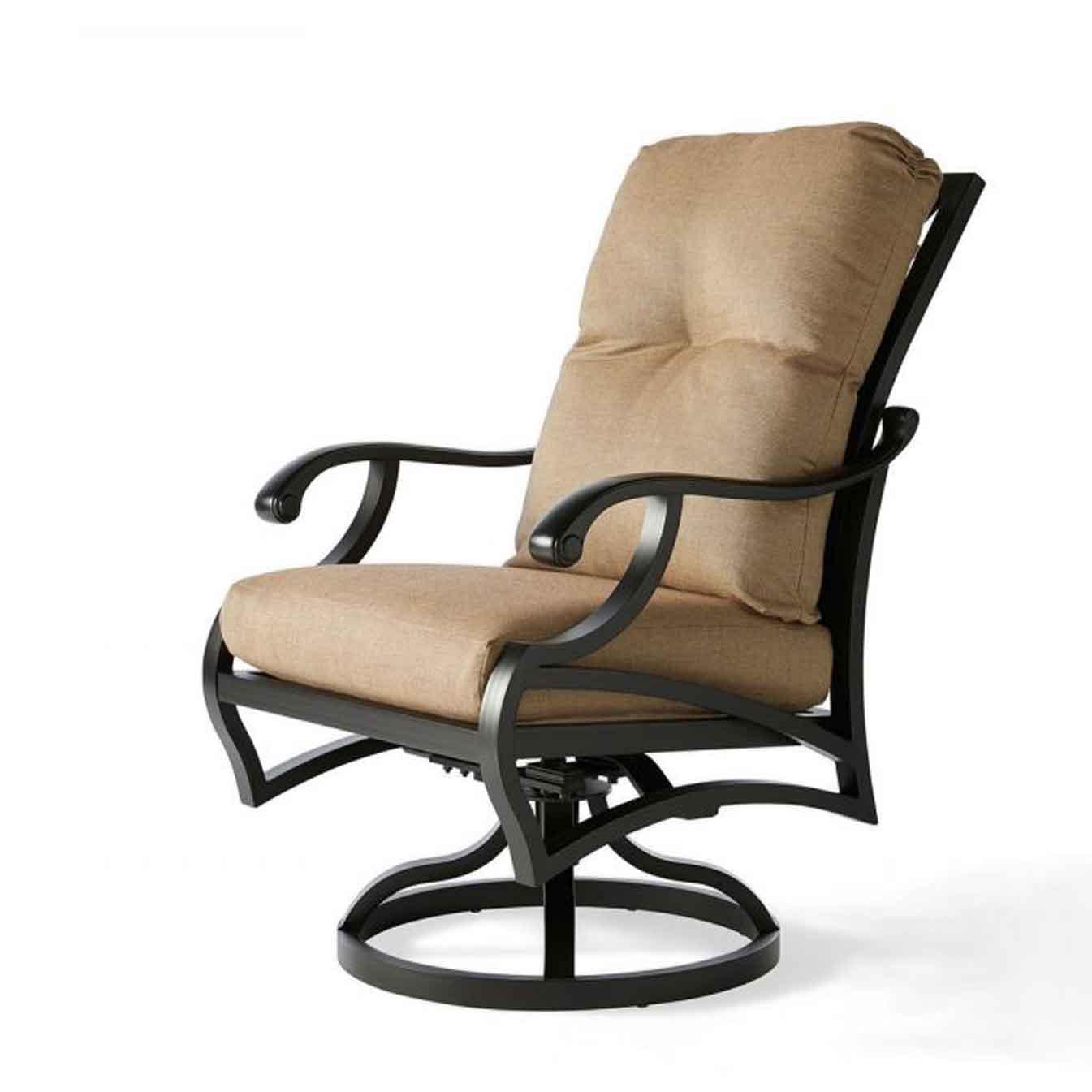 Volare Cushion Swivel Dining Chair - Rochelle Pebble