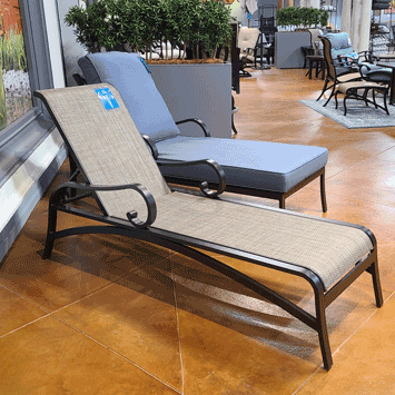 Key Largo Sling Adjustable Chaise