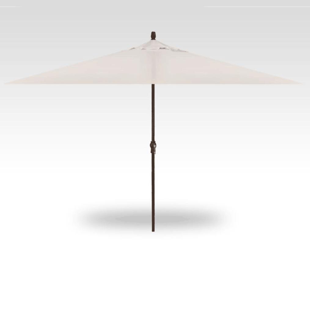 11' Rectangle Market Umbrella - Canvas