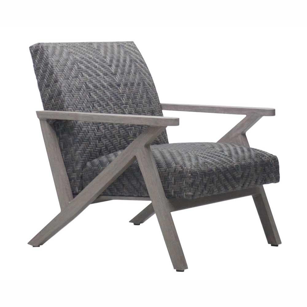 Copenhagen Woven Padded Club Chair
