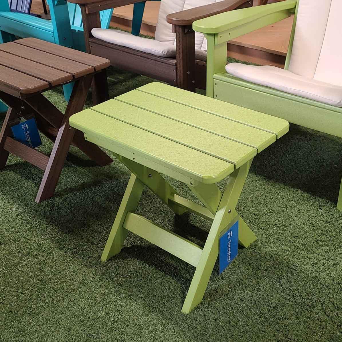 Kiwi Folding End Table