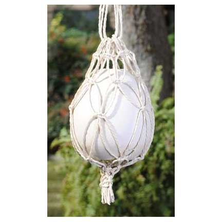 Patio Egg & Rope Sling