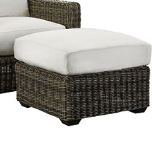 Oasis Cushion Ottoman - Vesper Birch