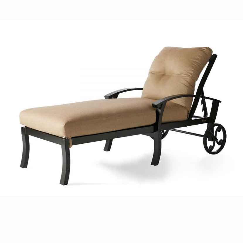 Georgetown Cushion Chaise - Cast Ash