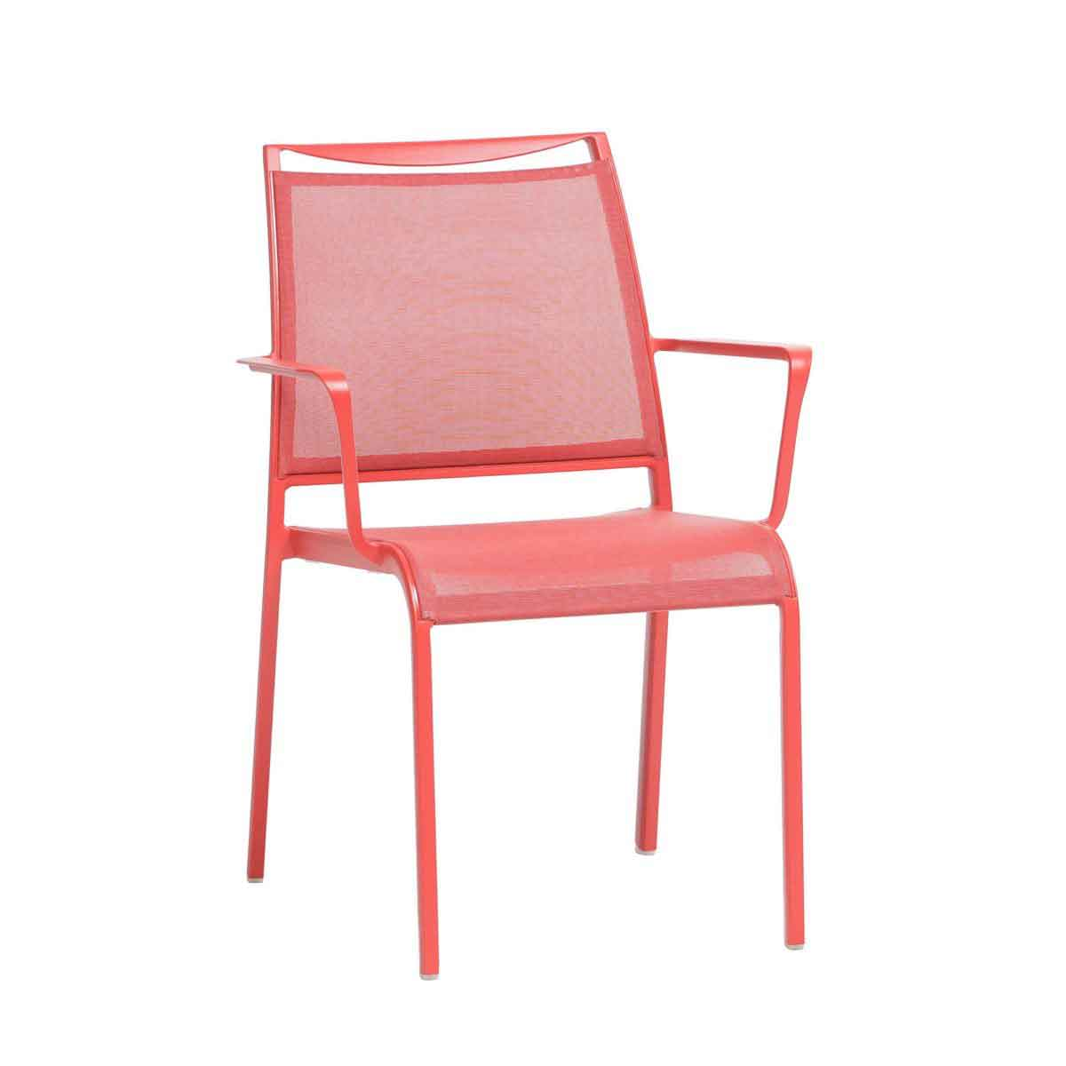 Como Sling Dining Chair - Red