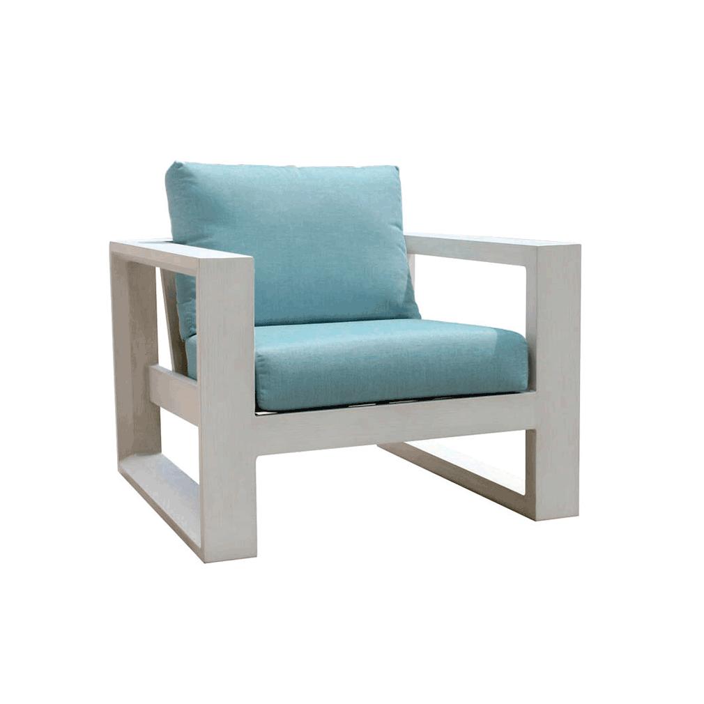 Element 5.0 Club Chair - Whitewash